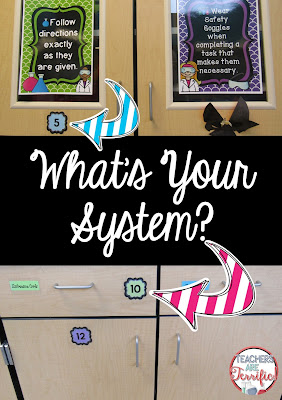Storing a lot of materials in a science or STEM class requires an organized system! Read more on this blog post!