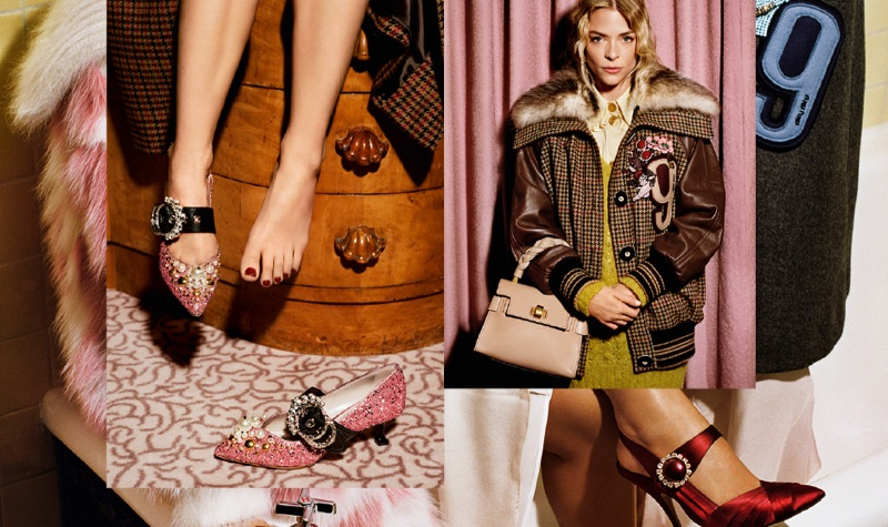 Miu Miu Pre-Fall 2017 Campaign featuring Jaime King