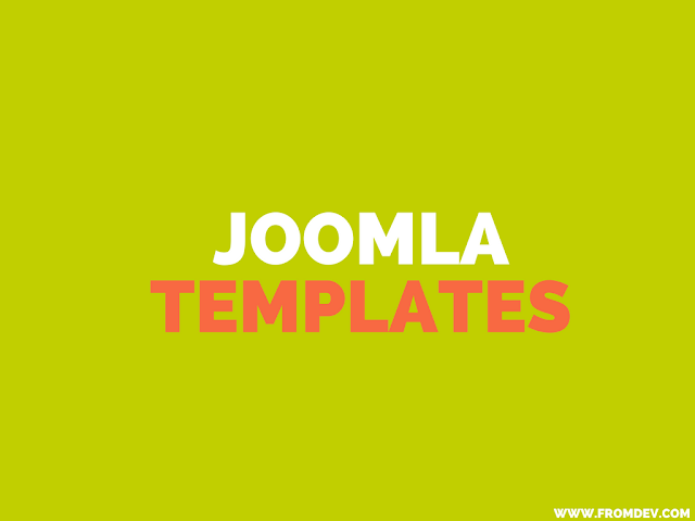 10 Best Free Joomla Website Templates Resources For Web Developers