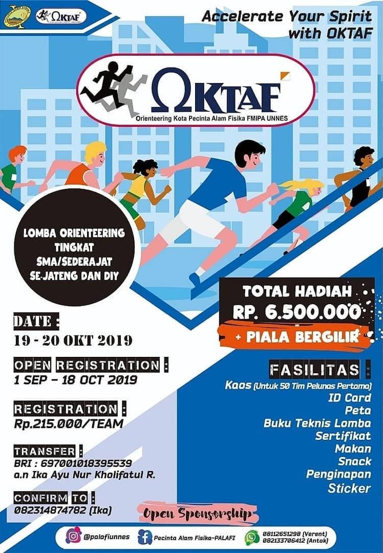 OKTAF - Orienteering Competetion • 2019