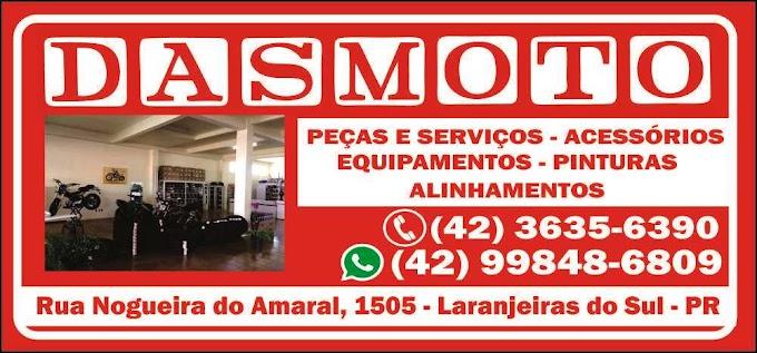 DASMOTO – Loja, peças, serviços e acessórios para motos em Laranjeiras do Sul