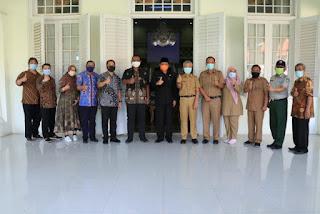 Pemkab Indramayu dan PT Polytama Gelar Pelatihan Mang Covid