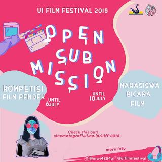 UI Film Festival (UIFF) 2018 Open Submission