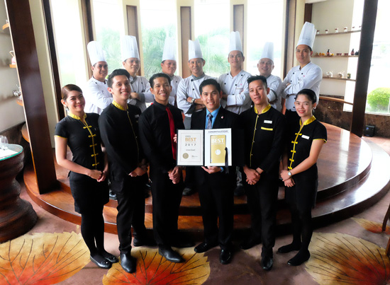 LOTUS COURT AWARDED ONE OF PHILIPPINE TATLER'S BEST RESTAURANTS 2017