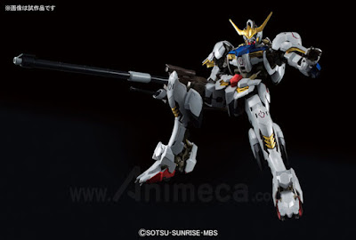 Model Kit Barbatos 1/100 Hi-Resolution Model Mobile Suit Gundam Iron-Blooded Orphans