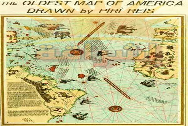 خريطة بيري محي الدين رئيس