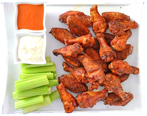 tailgating, wings, dry wings, dry rubbed wings