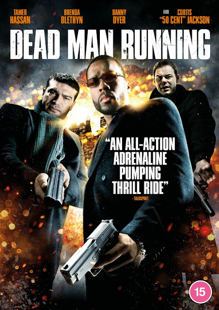 dead man running dvd