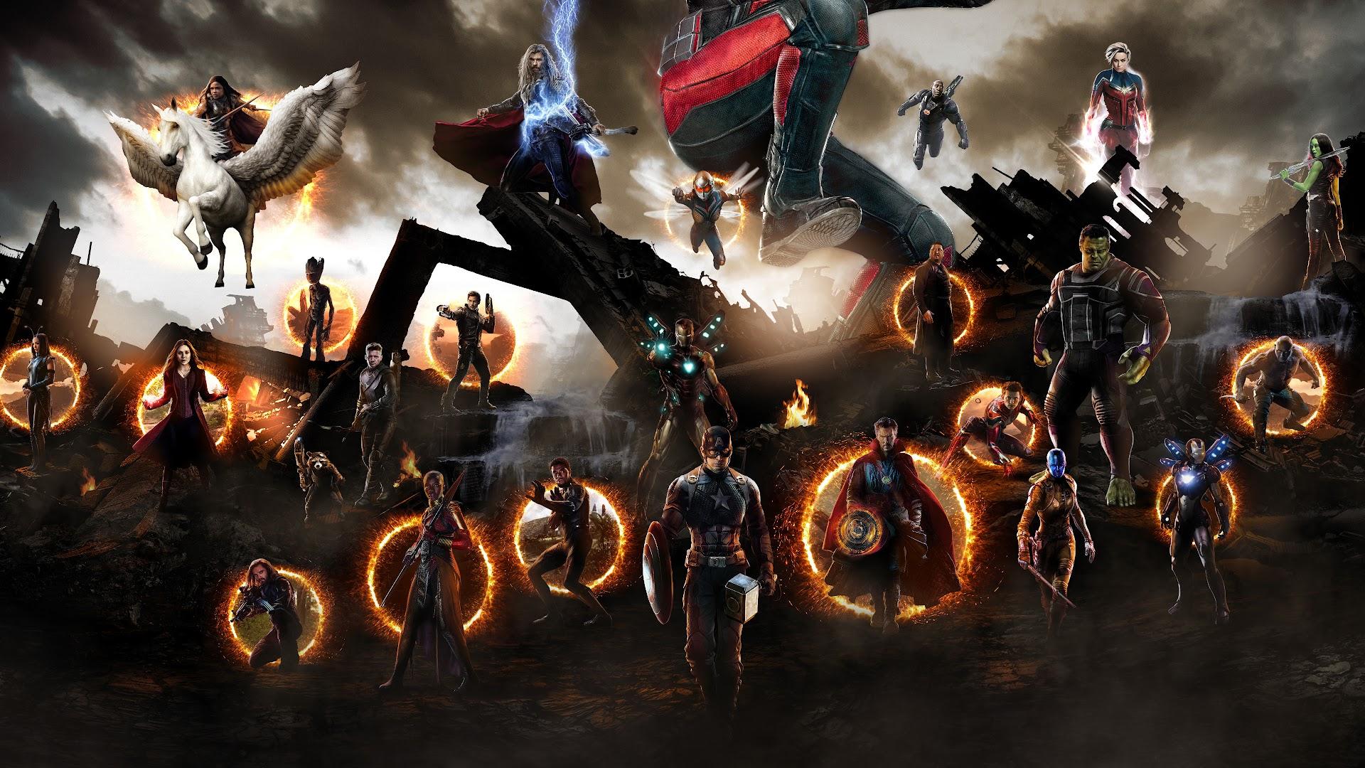 Avengers Endgame Final Battle 4k Wallpaper 156