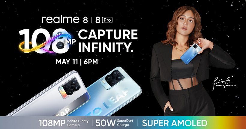 realme Philippines to launch first 108MP smartphone on May 11 with the realme 8 Series