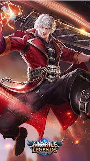 Alucard Demon Hunter Heroes Fighter Assassin of Skins Old