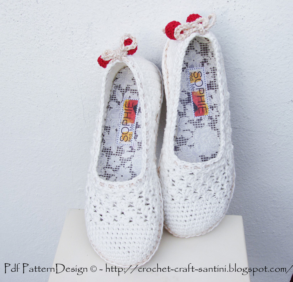How To Turn Crochet Slippers Into Street Shoes