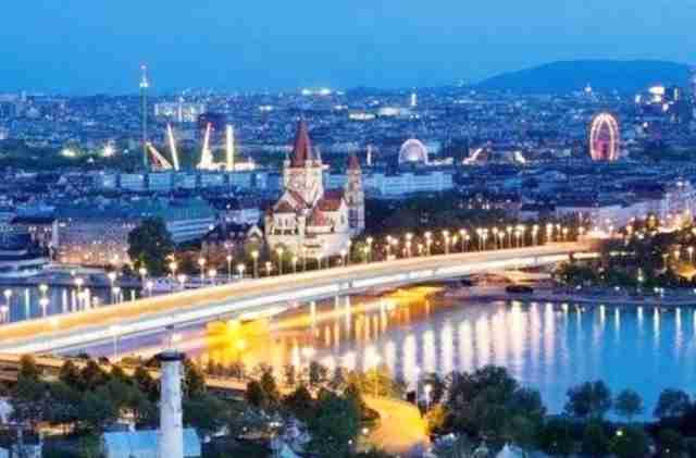 المناطق السياحية في النمسا