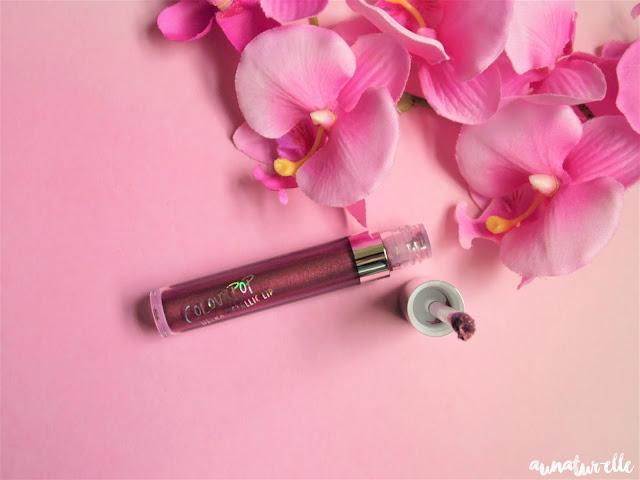 3 way de Colour pop - mon premier rouge à lèvre métallique