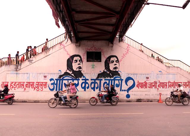 street art by stinkfish in nepal 8