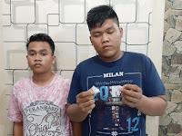 Sat Res Narkoba Polres Asahan Ringkus Dua Pria Penjual Shabu