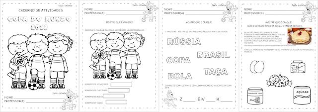 Atividades Copa Educação Infantil