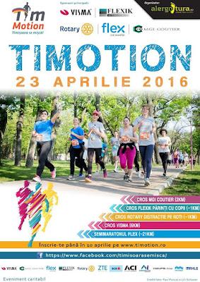Timotion 2016. Timișorenii sunt așteptați în număr mare la cea mai populară alergare de primăvară