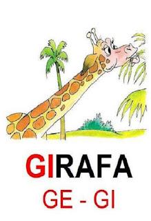 cartaz gi de girafa