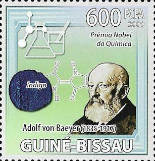 Guinea Bissau Nobel Prize Chemistry Adolf Von Baeyer Germany
