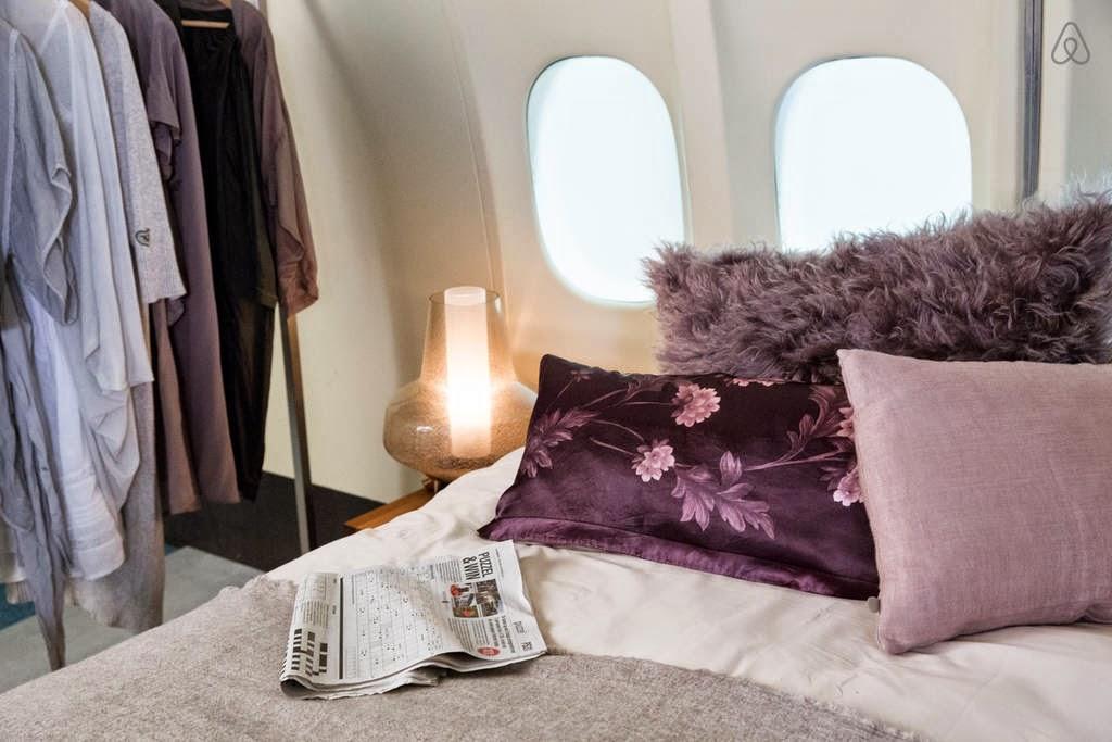 Hoteles extraños Hotel en un avion