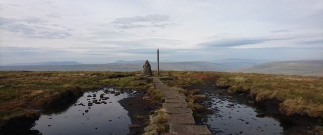 Buckden Pike (summit), Sept 17