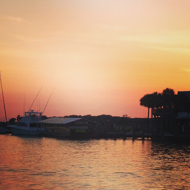 Sunset Charleston South Carolina