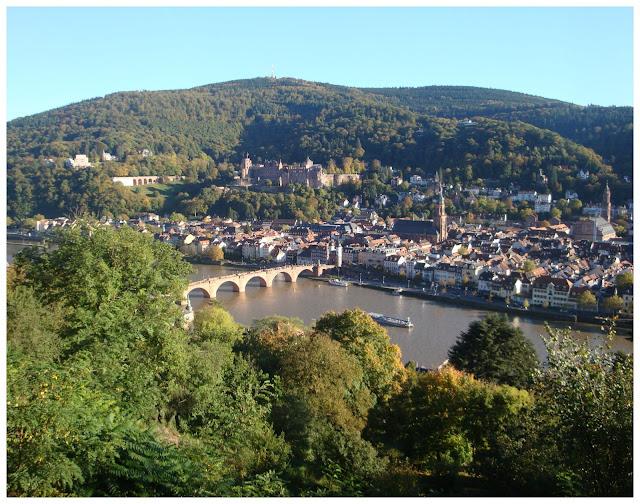 Alemanha: as pontes mais fantásticas! Heidelberg