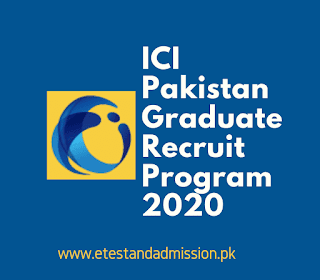 ICI Pakistan Graduate Recruit Program 2020