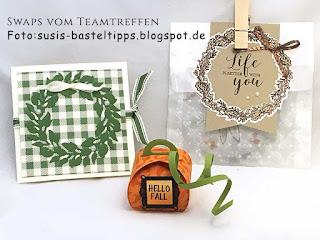 Verpackungen mit Produkten aus dem Herbstminikatalog 2019 von Stampin' Up!: mini zierschachtel, kürbis, sarg, stampin' Up!, demonstrator, bestellen in coburg