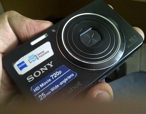 harga camera bekas sony w630