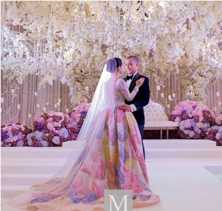 gambar kahwin anzalna nasir dan hanif