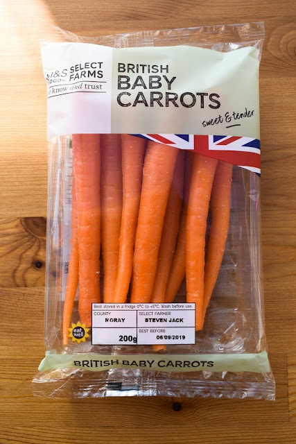 Marks and Spencer Baby Carrots