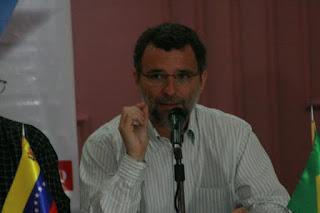Valter Pomar Valter Pomar, secretário de assuntos internacionais do Partido dos Trabalhadores (PT)