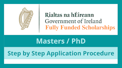 منحة حكومة أيرلندا 2022 (ممولة بالكامل)