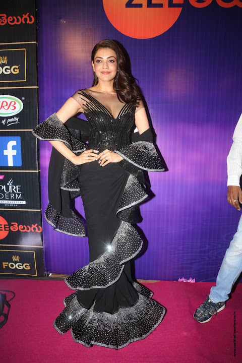 Kajal Aggarwal at Zee Apsara Awards 2018