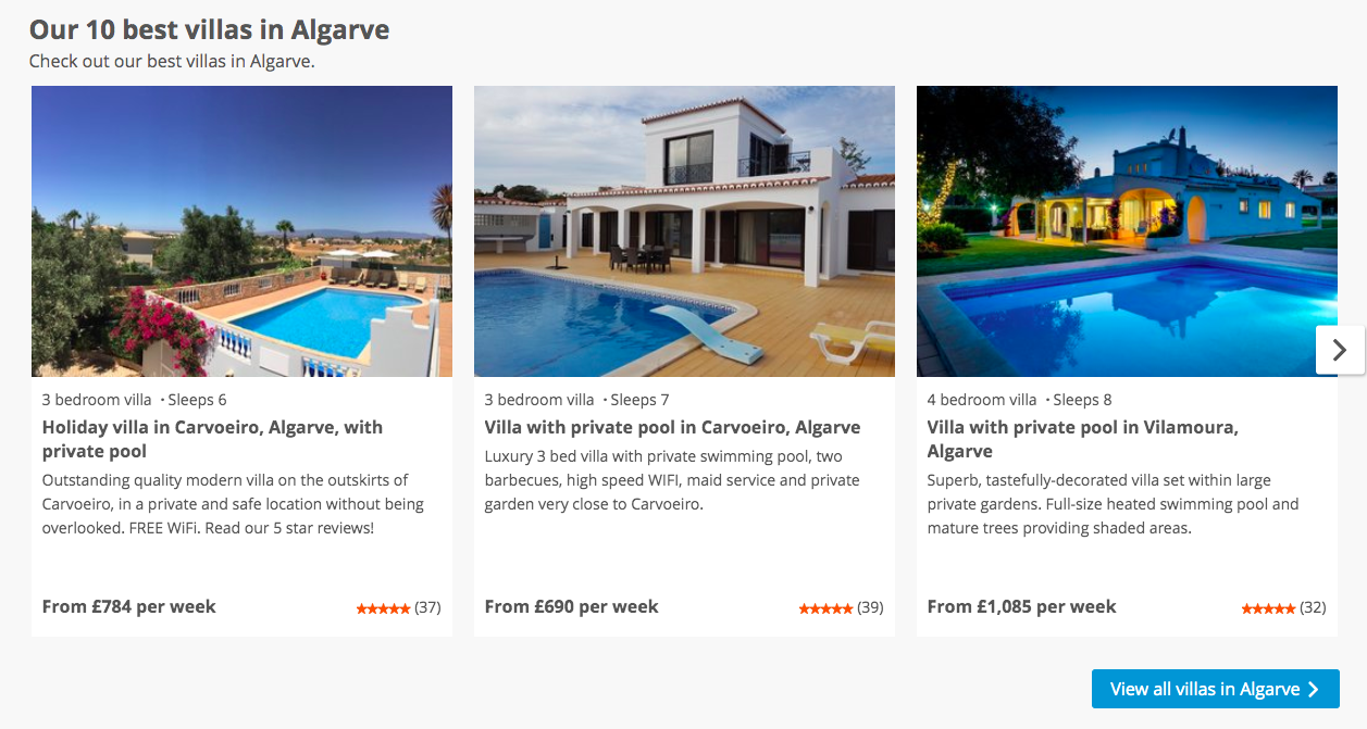 Private Villas In Portugal travelling weasels: how to rent the best villas in the