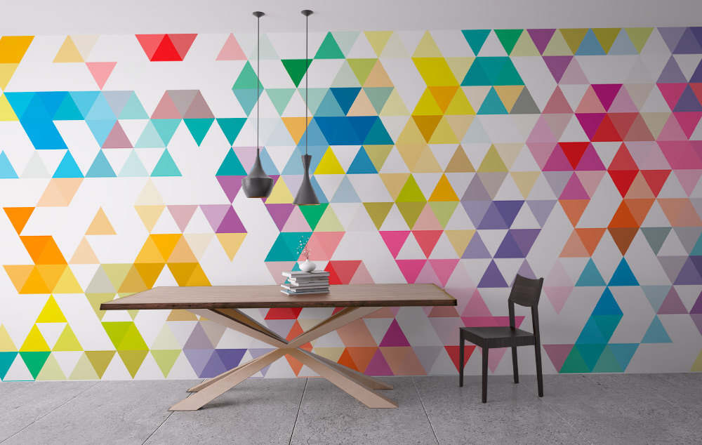 3D Color block Wall Art: Home Decor
