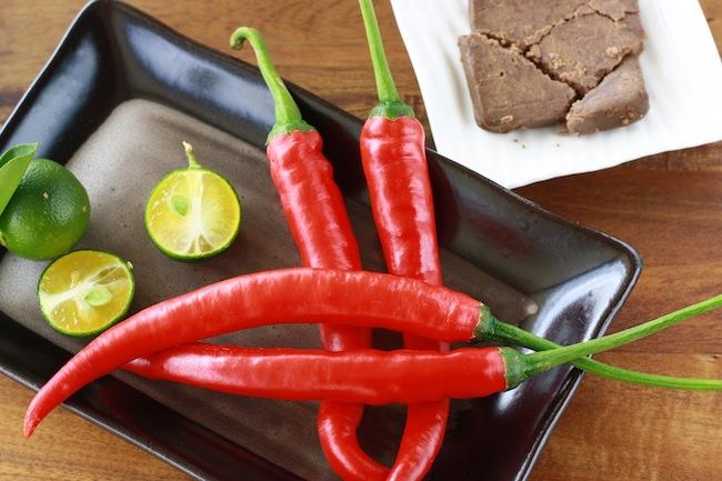 sambal belacan ingredients