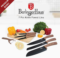 Dusdusan Berlinger Haus 7 Pcs Knife Set Forest Line ANDHIMIND