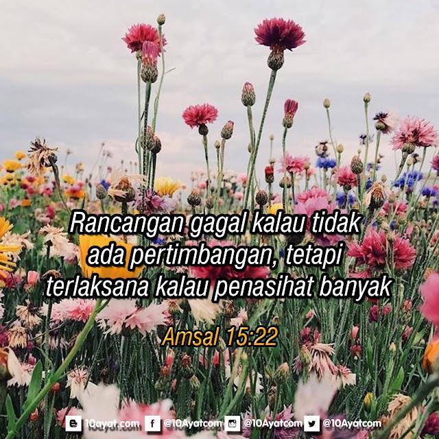 Amsal 15:22