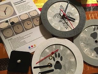 Pika-askarteluna kelloja