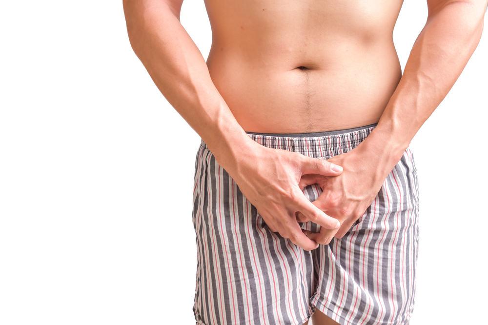 Menghilangkan gatal pada sekitar kemaluan pria