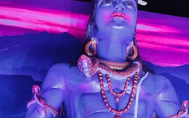 A 25ft Shiva Statue Has Been Constructed In Mandir Talab, Kharagpur