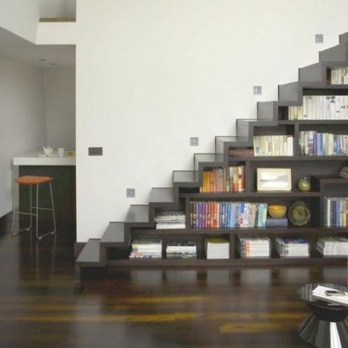 staircase design in living room