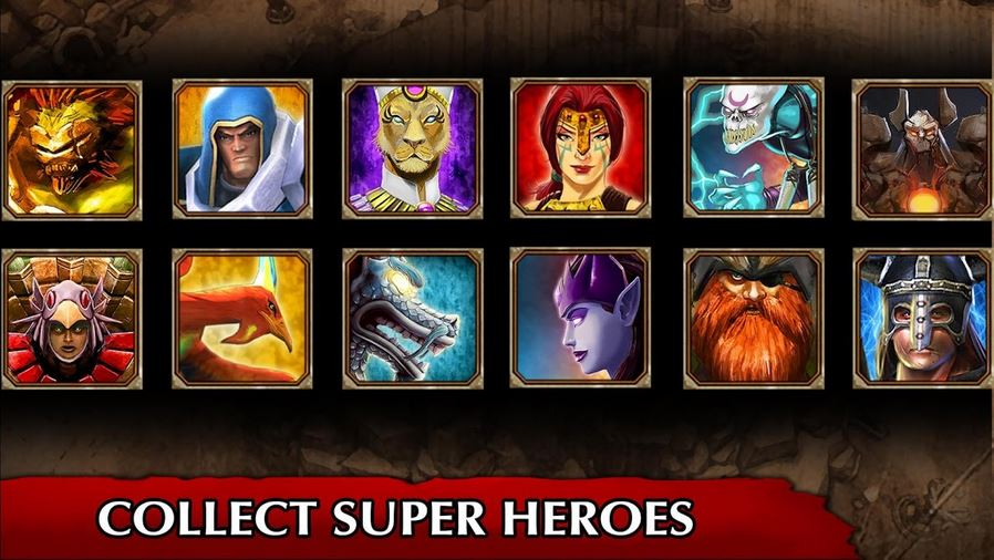 download  legendary heroes mod apk 2
