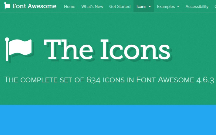 Iconos Font Awesome para Blogger