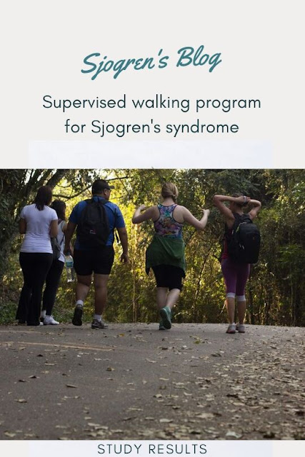 walking program for Sjogren's syndrome