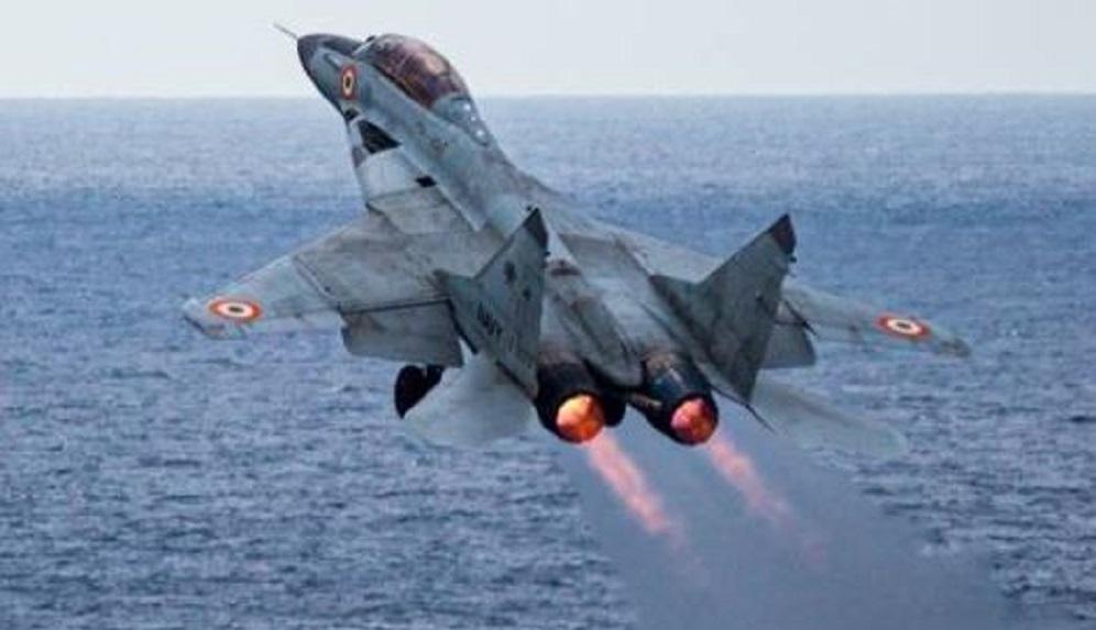 Mig-29 jet crashes in Arabian Sea