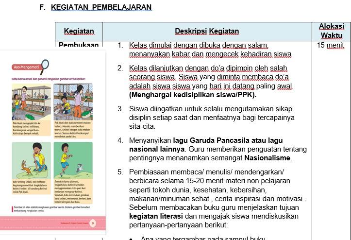 Rpp Kelas 5 Sd Kurikulum 2013 Revisi Tahun 2017 Integrasi Ppk Literasi Dan Hots Gurusd Web Id